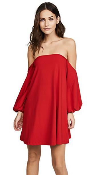 Susana Monaco dress perfect red
