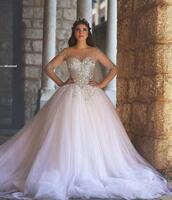dress,said mhamed,ball gown wedding dresses,long sleeve wedding dress,arabic wedding gowns,bridal dresses,2015 wedding dresses