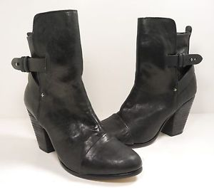 Rag Bone 'Kinsey' Leather Bootie Black Size 39 5 US 9 5 | eBay