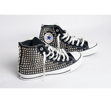Custom Women's Studded Converse | Created by Fortune
