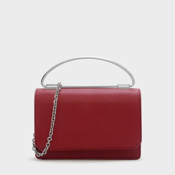 handbag red bag
