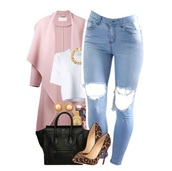 coat,jeans,pumps,bag,jewels,top,shoes,pink,ripped jeans,heels,red bottom,leopard print,cheetah heels,denim,ripped denim,pants,skinny pants,black bag,black,white,studs,outfit,tumblr,style,fashion,streetstyle,ootd,clothes,polyvore,light wash denim,crop,crpped,crop tops,white top,shirt,half shirt,chain,necklace,gold chain,dope,fall outfits,designer bag,acid wash,white crop tops,louboutin