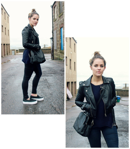 the little magpie sweater jacket jeans shoes bag