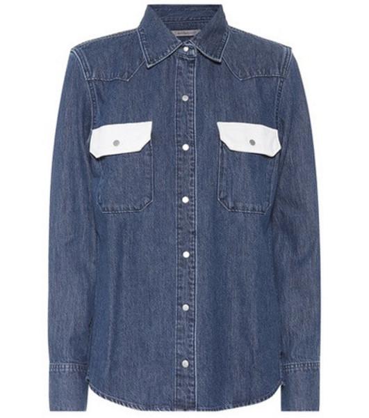 Calvin Klein Jeans Denim shirt in blue