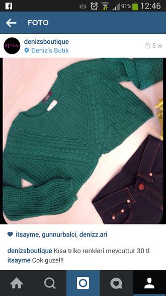green swimwear