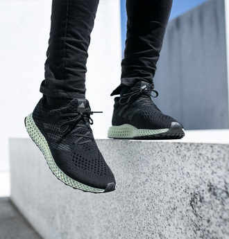 shoes adidas futurecraft 4d sneakers adidas adidas shoes mens sneakers black sneakers