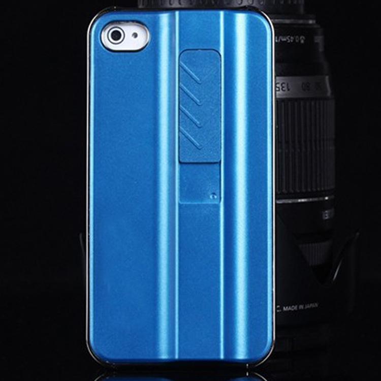 Apple iphone 5 5s chic and slim torch lighter phone case in blue black or silver