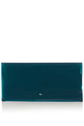 Semi Sheer Plastic Clutch Bag - Bags & Purses  - Bags & Accessories  - Topshop