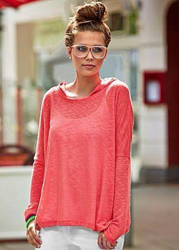 marvellous outfits sweater coral shirts