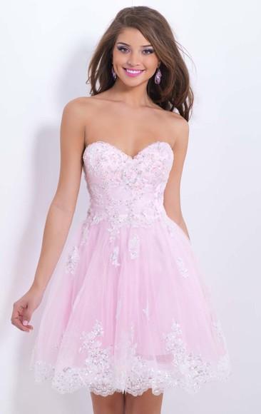 pink dress sweetheart dresses short dresses cheap dresses short prom dress homecoming dress party dress cocktail dresses bridesmaid dresses