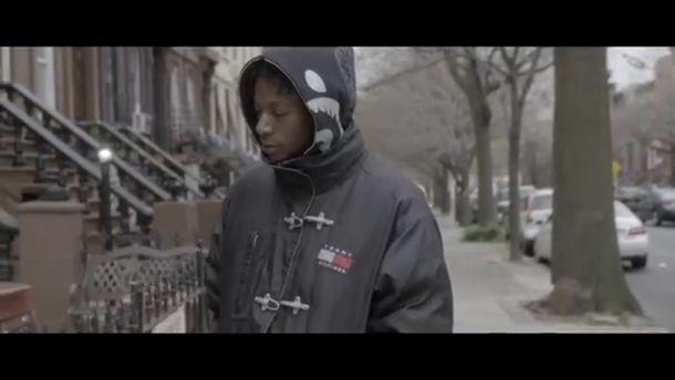 coat tommy hilfiger jacket joey bada$$ menswear windbreaker