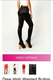pants,shiny black disco pants