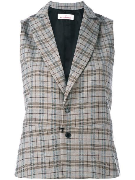 blazer sleeveless women spandex nude wool jacket