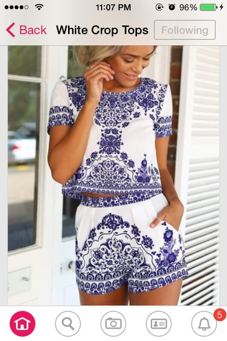 dress romper blue shorts classy dress