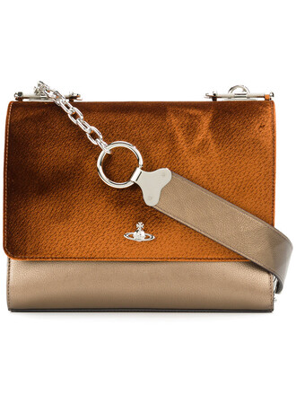 cross metal women bag leather cotton velvet
