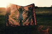 scarf,hippie,summer,music festival,vanessa hudgens,boho,home accessory,blanket,dress,decoration,home decor,sheet,moon and sun