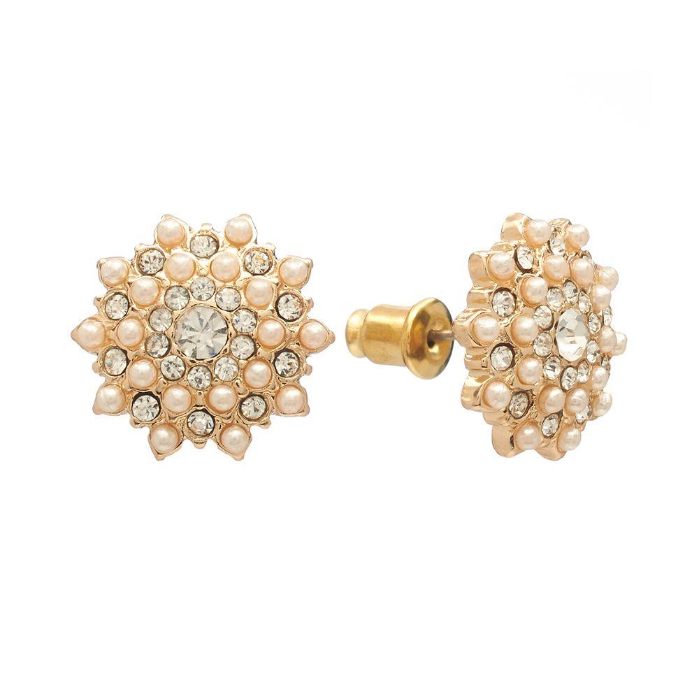 LC Lauren Conrad Starburst Stud Earrings