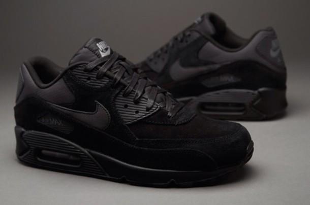 air max all black