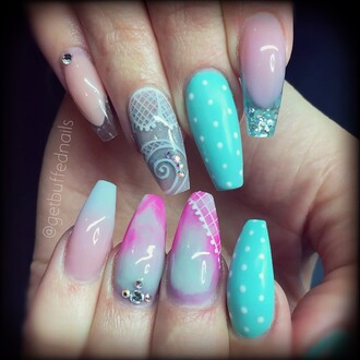 nail polish tiffany nail art