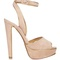 Louloudance 140mm suede platform sandals | christian louboutin | matchesfashion.com us