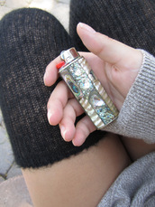 jewels,lighter,pearl lighter,mother of pearl lighter,shell,dope,chic,urban,fire,streetstyle