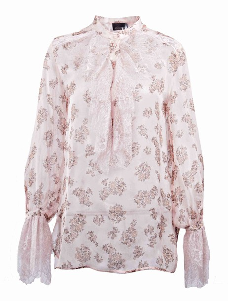 ERMANNO ERMANNO SCERVINO shirt floral print purple pink top