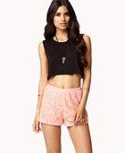 Lace Shorts | FOREVER21 - 2000128459