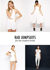 bklyn bride,blogger,romper,jumpsuit,white,top