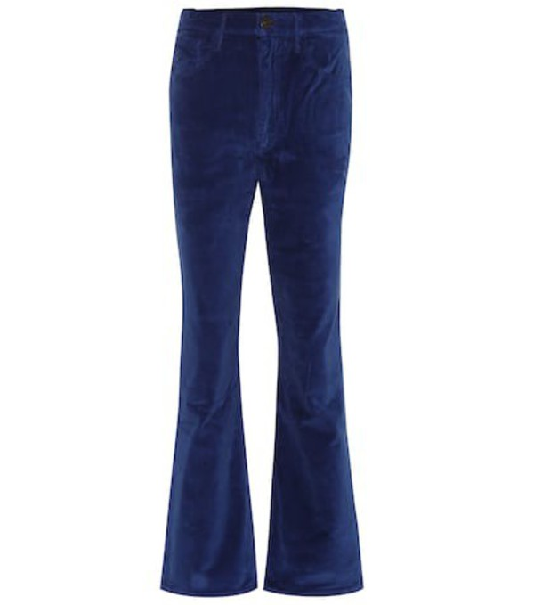 3x1 W5 Empire high-rise flared jeans in blue