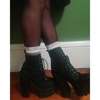 shoes jeffrey campbell zooji booties platform shoes