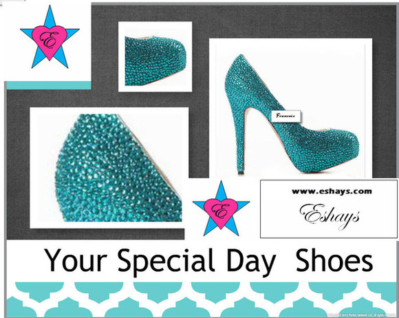 prom rhinestones shoes blue heels blue rhinestones blue shoes blue pumps bling shoes wedding shoes blue crystal heels prom shoes prom shoes, high heels, platform heels, diamond, silver heels, glittery heels