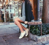 dress,grey,sweat,style,soft grunge,grunge,converse,grey dress,cardigan