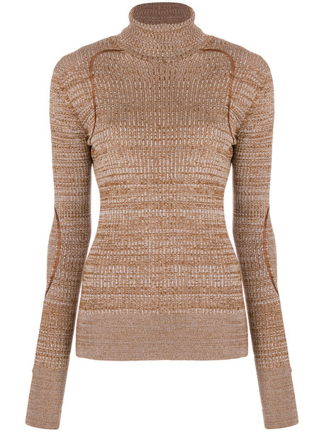 NINA RICCI jumper women nude wool sweater