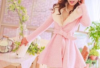 coat pink trench coat pink coat pastel pastel pink