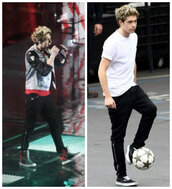 pants,celebrity,niall horan,black,cool,clothes,niall,horan,one,direction,one direction
