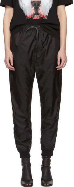 MARCELO BURLON COUNTY OF MILAN pants black
