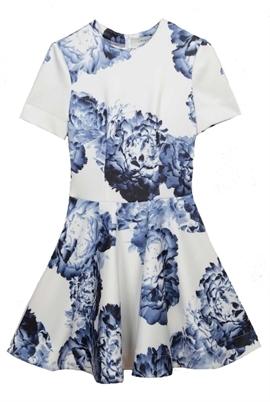 Lover Bloom Dress Ink Floral