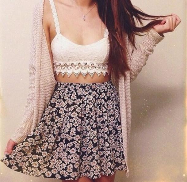 t-shirt boho top crochet