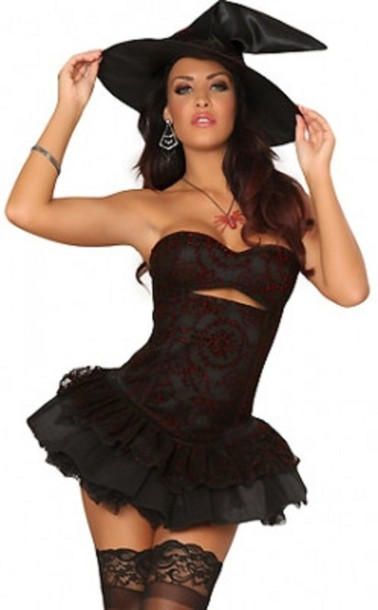 Dress Sexy Witch Witch Costume Wots Hot Right Now Sexy