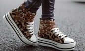 converse,leopard print,shoes