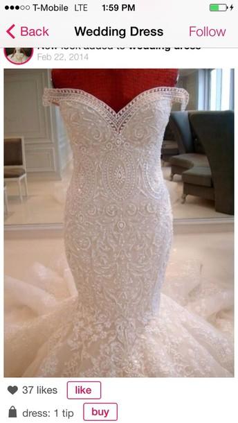 dress white tight wedding dress