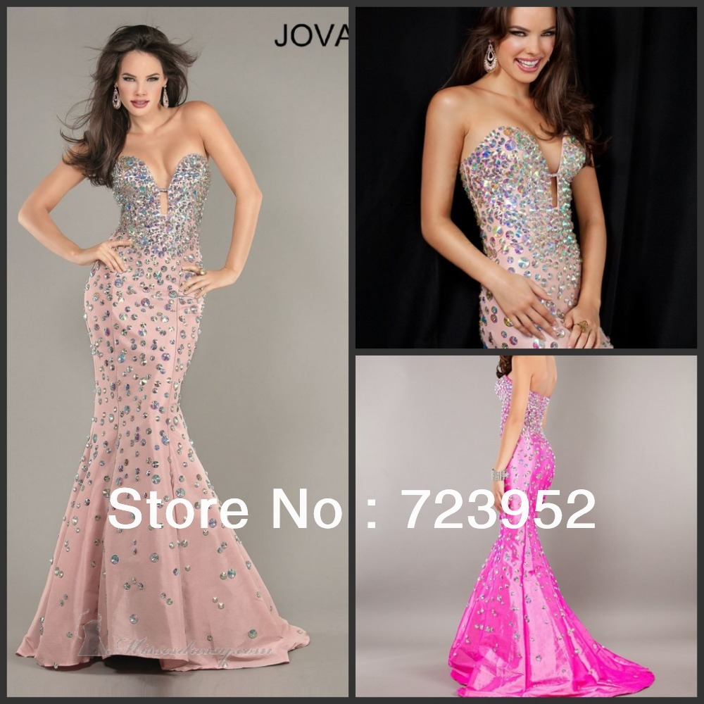 aliexpress wedding dresses Aliexpress com Buy Newest Mermaid Dress Sexy Low Cut Princess Luxury Full Heavy Jeweled Beading Sparkle Glitter Women Formal Evening dresses from