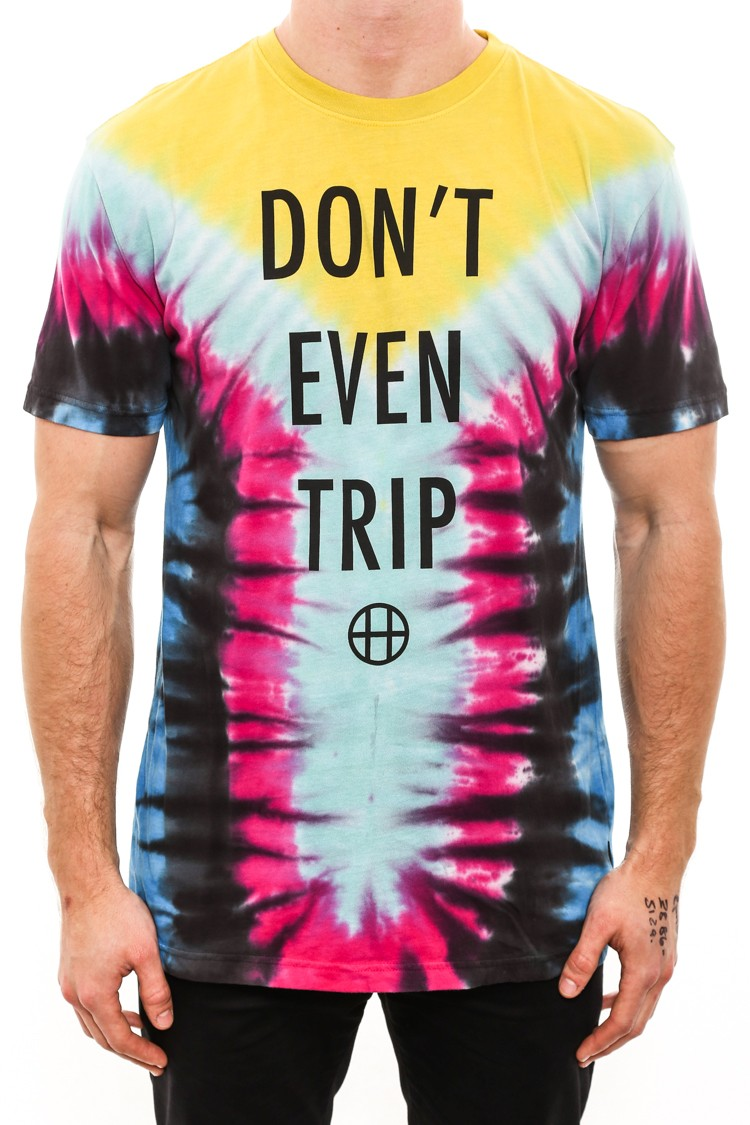 HUF Don T Even Trip Tee Yellow