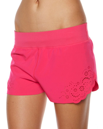 LORNA JANE DIVINE SHORT - SHOCKING PINK