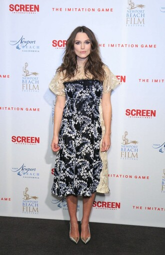 dress midi dress keira knightley
