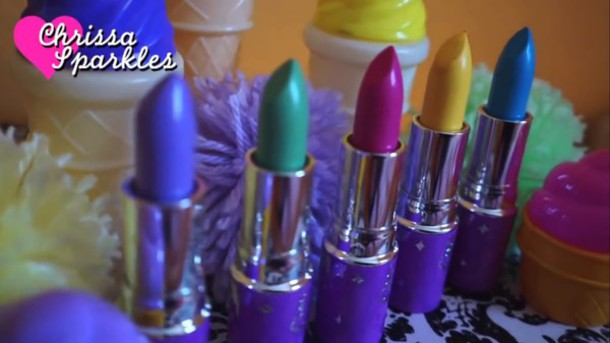 make-up kawaii style dope lipstick