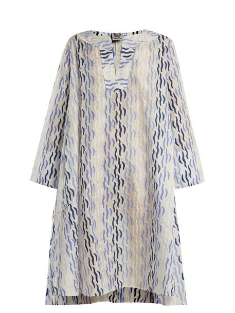 Thierry Colson - Rock The Boat Printed Dress - Womens - Blue Multi