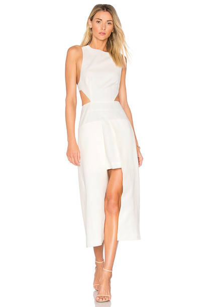 Finders Keepers dress white