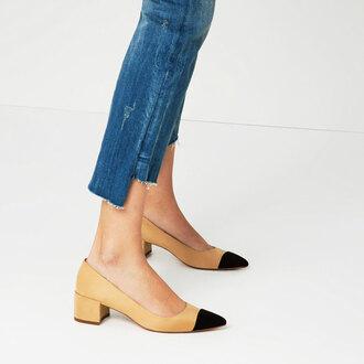 shoes colorblock