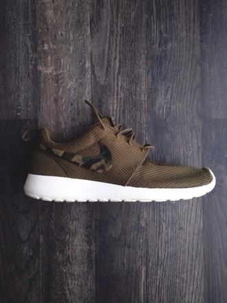 shoes nike roshe run military style